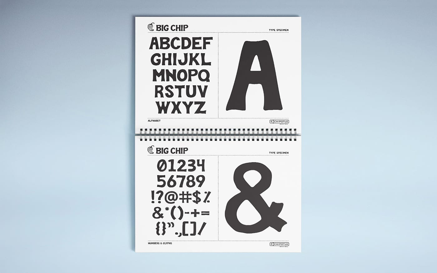 Chipotle Type Design